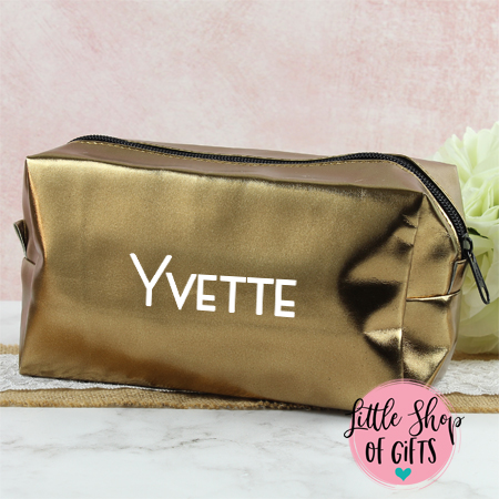 Cosmetic Bags - Bronze