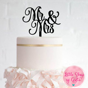 Laser cut Cake Toppers 3