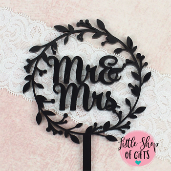 Laser cut Cake Toppers 4