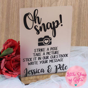 Photo Guestbook sign