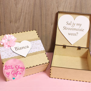 Bridesmaid box - no contents