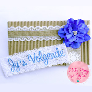 "White Lace ""Jys Volgende"" Garters"