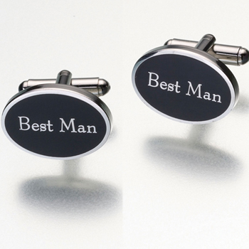 Best Man Cufflinks - LAST STOCK