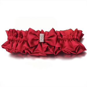 Diamond Red Garters